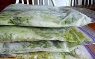 سبزیجات خشک منجمد شده
