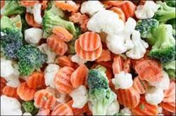 سبزیجات منجمد صادراتی