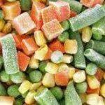 قیمت سبزیجات منجمد
